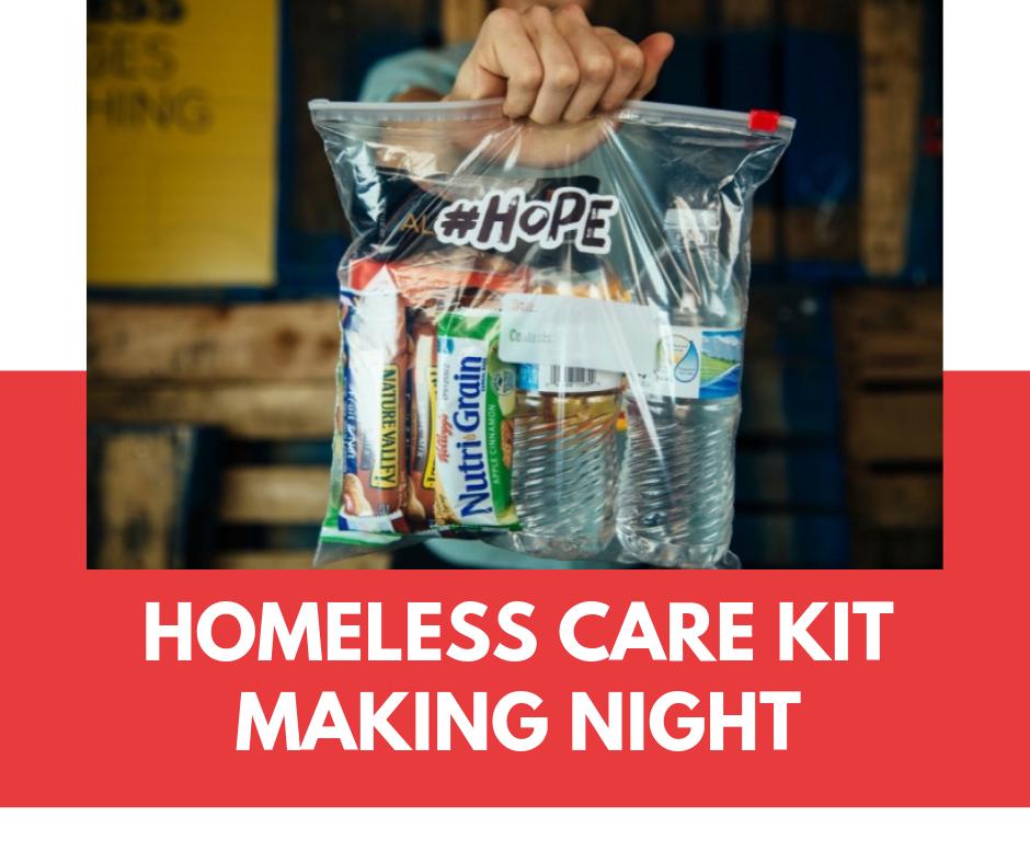ConshyUnited Homeless Care Kit Making Night 2019