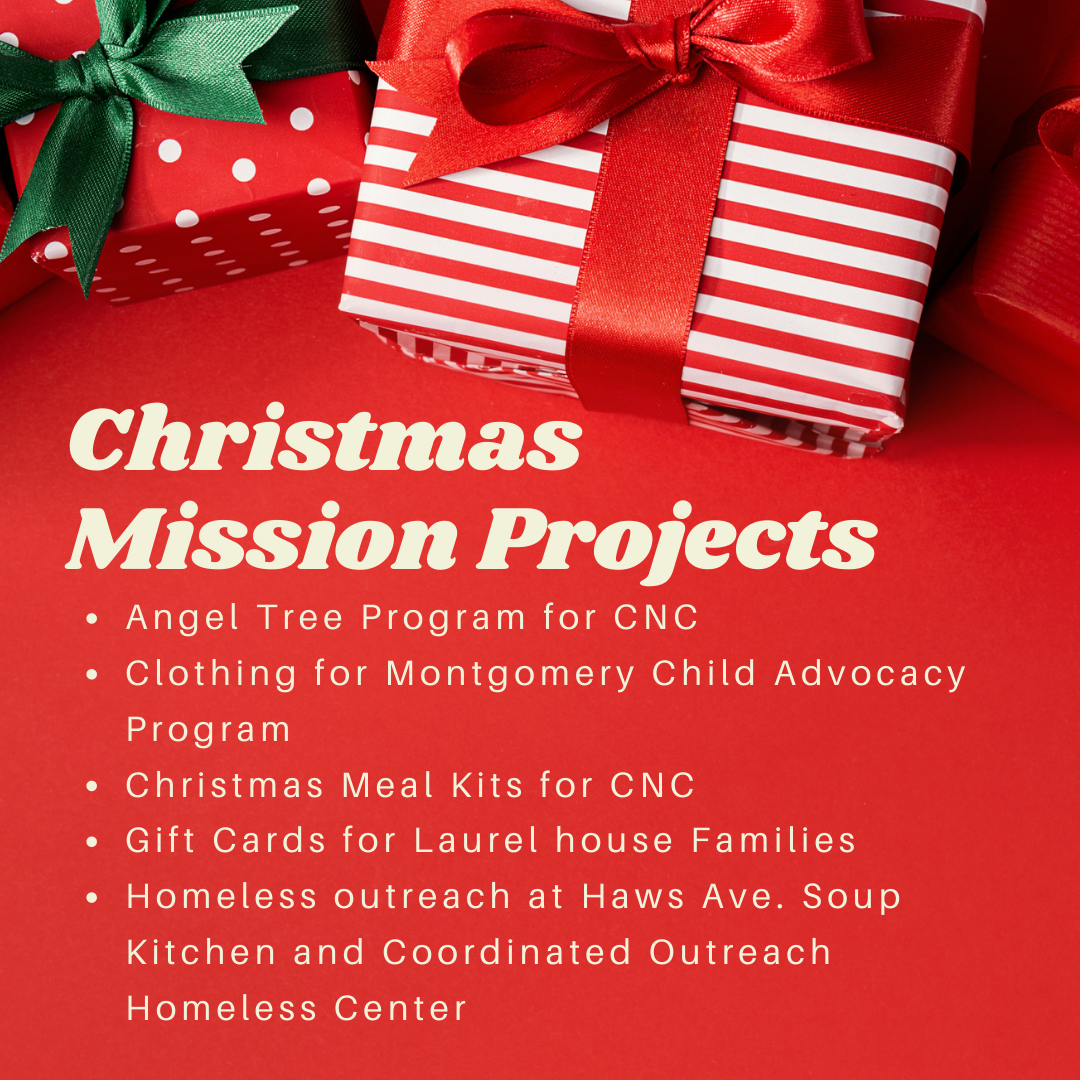 Christmas Missions 2020