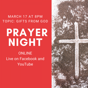 Prayer Night March 2021